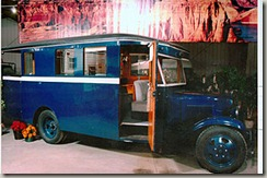 1931 Chevrolet Housecar used by movie star Mae West.